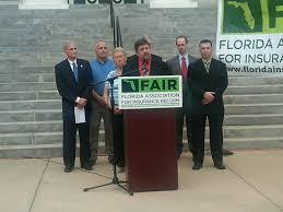 florida association for insurance reform fair announces lawsuit against citizens property insurance