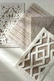 patterned bathroom rugs brown bath rug sets selection of luxury bath rugs in a variety