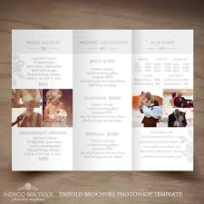 Photography Pricing Template Senior Photography Trifold Brochure Template Client Welcome Guide