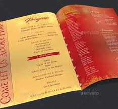 Christmas Program Templates 40 Festive Brochure Templates Sanker