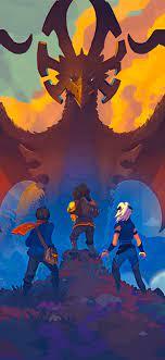 1242x2688 The Dragon Prince Iphone XS ...