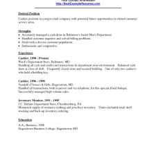 Store Clerk Resume Resume For Study