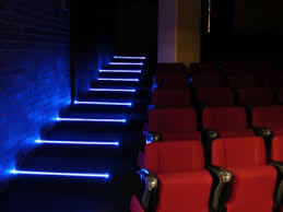 stair step lighting. crazy optical fiber and leds based step lighting stair