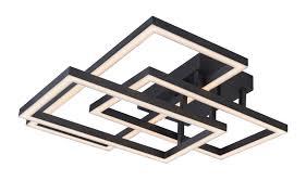 rectangular ceiling light. Radium VRCF49103BL 28\u2033 Integrated LED Rectangular Ceiling Light Fixture L