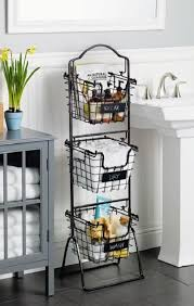 this 3 tier market basket stand is the practical and elegant storage solution that will bring organization to any room of the house