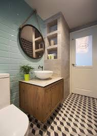 Round square or long bathroom mirror