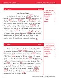 daily paragraph editing grade  preview page 11