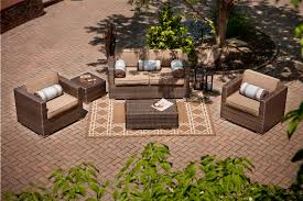 the taryn collection 5 piece all weather wicker patio furniture deep seating set
