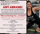amy s workout winner