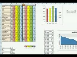diet excel sheet keto diet example in my own excel sheet youtube