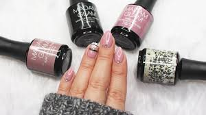 Striped Gel Nail Art | Madam Glam Black Friday Sale ♡ - YouTube