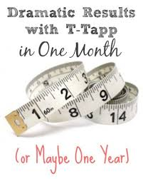 T Tapp Measurement Chart Dramatic Results In One Month Or Maybe One Year