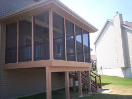 brilliant screened decks screened porches st louis mo archadeck and in deck ideas o