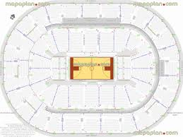 Clippers Seating Chart Staple Center Seating Clippers Section 119 United Center Los