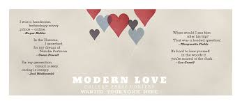 the new york times modern love essay contest modern love college essay contest