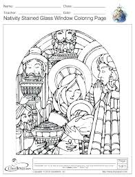 Stained Glass Coloring Pages Free Printables Free Printable Cross
