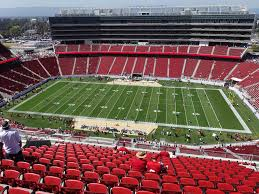 Levis Stadium View From Section 410 Vivid Seats