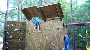 backyard climbing wall kit