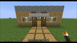 Small Picture How to make a fast and easy house in Minecraft YouTube