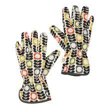 Small Picture Orla Kiely Potting Gloves Garden Accessories Cuckooland