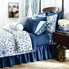 contemporary ralph lauren blue bedding new chaps home camellia queen comforter set fl white blue ralph lauren blue paisley sheet set