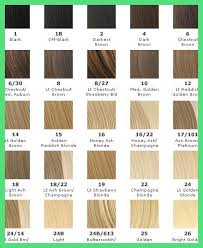 Surprising Hair Color Number Chart Pics Of Hair Color