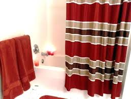 red white striped shower curtain and target blue nautical curtains state bathrooms amusing c