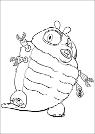 Alien Coloring Pages To Print Art Stamp Digital Graphics Coloring