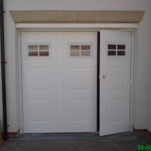 side hinged garage doorsPhoto Gallery  Steel SideHinged Garage Doors  Select Garage Doors