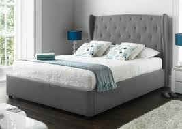 Ottomans For Bedroom Richmond Upholstered Winged Ottoman Storage Bed Bedroom In