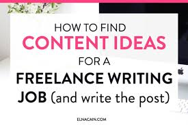 how to content ideas for a lance writing job and write  as a new lance writer one of the skills you need is researching blog topics for your clients understanding which sites to go to or which sources to
