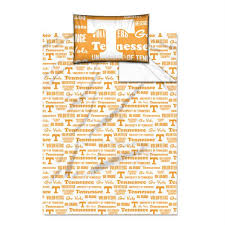 upc 087918691438 image for northwest nor 1col820010019wmt tennessee volunteers ncaa twin sheet set