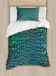 abstract duvet covers. Unique Duvet Abstract Duvet Cover Set Alligator Skin African Animal Crocodile Reptile  Safari Wildlife Vibrant Artwork Decor 4pcs With Covers