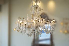 20 light murano glass chandelier