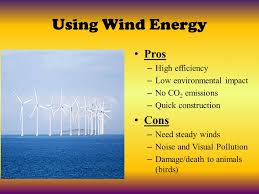 Wind Power Pros And Cons Chart Resources Unit Day 1 Objective Objective I Can Explain