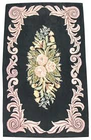 folk art rug folk art hooked rug antique mission furniture ruby lane folk art wool rugs