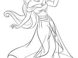 jasmine printable coloring pages. Perfect Pages Disney Jasmine Coloring Pages Princess Jr  Printable Inside Jasmine Printable Coloring Pages C