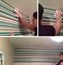Horizontal Wallpaper Designs Horizontal Stripe Wallpaper Ideas Home Decorating Ideas