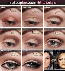 eyeshadow step by step tutorial for mila kunis inspired