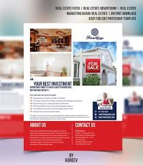 Microsoft Real Estate Flyer Templates Real Estate Flyer Editable In Microsoft Word Powerpoint