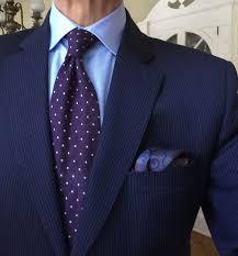 Purple Tie Light Blue Shirt Blue Jacket Light Blue Shirt Purple Tie With White Pin