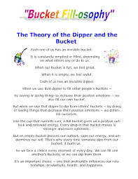 Small Picture bucket filler letter to parents Google Search Bucket filling