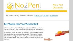 sample company newsletter small business email newsletter examples and email tips the