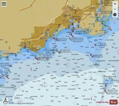 N Shore Long Isl Sound Stratford To Sherwood Pt Ct Marine