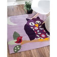 kids rug pink and gold nursery rug thick rug for playroom kids carpet nursery floor