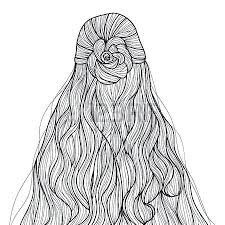 Hair Coloring Pages Nottooyoungtoleadorg