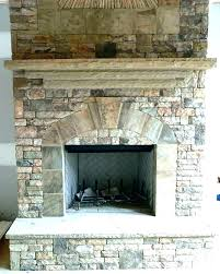 cover brick fireplace with stone how to a wood storage fi cover brick fireplace with stone