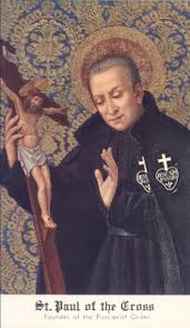 St Paul of the Cross: St Paul of the Cross