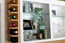 wine racks for small spaces. Pursuit Of Healthfulness Uses Bit Lumber And Trim To Create An Awesome Builtin Wine Rack In The Narrow Space On Side Cabinet Inside Racks For Small Spaces