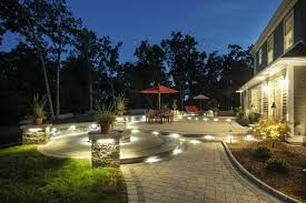 With an abundance of step and path lighting you can create a glow in your  area